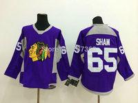 Cheap Free Shipping men's Hockey Jersey Chicago Blackhawks 65 Andrew Shaw Hockey Jersey Embroidery Logos Jersey