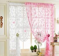 100CM*200Cm New Butterfly Line String Curtain Drape For Wall Vestibule Door room dividers wedding drapery line curtain