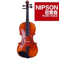 Nipson solid wood handmade violin noe-857 professional