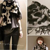 New Style Fashion Women Shawl Wrap Cape Oversized Soft Plaid Blanket Scarf S42