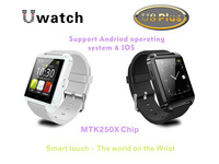 Free Shipping U8 U Watch Bluetooth Smartphone WristWatch for Iphone 6/5/5s/4s/4 IOS Android Samsung Android Phone Smartphones