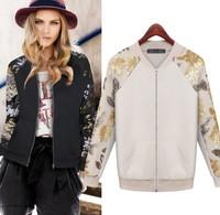 2014 Autumn&Winter, European Style Top Ladies  Womens Jacket Coat Plus Size S-XXL B5899