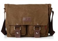Brand name men and women  messenger bag Fashion canvas bags students one shoulder book bag teenager vintage school bag 2101