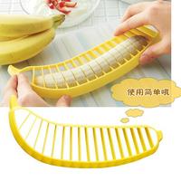 Vegetable Cutter Transport Tools 1 Pcs Banana Slicer Chopper Cutter for Fruit Salad Sundaes Cereal Kitchen Tools New Hot Selling