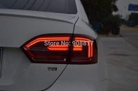 Error free hybrid version led tail light for 2011 2012 2013 2014 Volkswagen Jetta MK6 LED Tail Light Jetta 6 American version