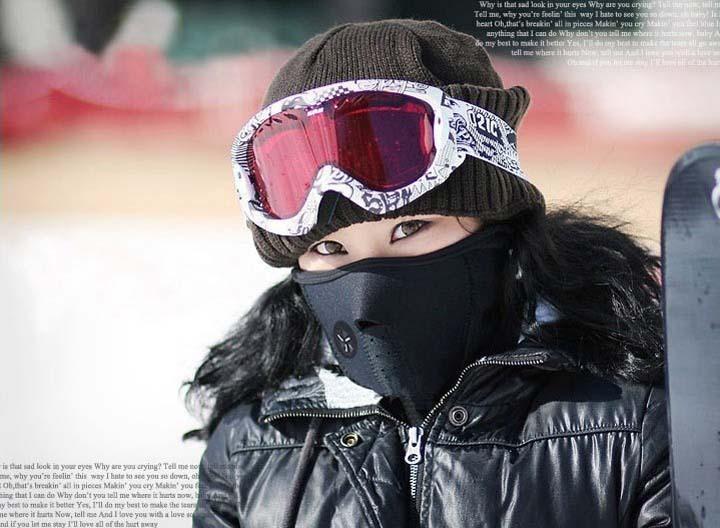 Free Shipping+Bicycle Neoprene Neck Warm Face Mask Veil Guard Sport Bike Motorcycle Ski Snowboard 3 colors,300pcs/lot(China (Mainland))