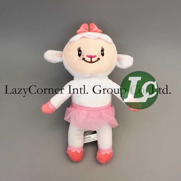 30cm 5pcs/lot Lambie Plush Cartoon Doc Mcstuffins Clinic Plush Toys Sheep Stuffed Animal Baby Toys Chrismas Gift Free Shipping(China (Mainland))