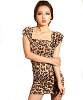2014 temperament three kinds worn Wrap Dress nightclub Slim package hip dress nightclub Women