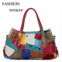 new 2015  Vogue woman Genuine leather handbag cow leather Soft  fashion high-grade best-selling on sale  lady's handbag