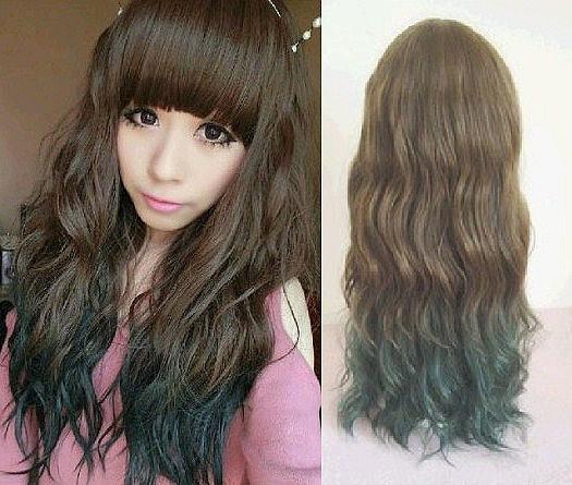 Weeks ago peace love curls tgif weekend brunette curls Long wavy brown ombre hairstyle for women