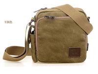 New arrive simple casual Men's messenger bags Document bag vintage canvas famous brand travel bags business bag