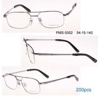 Metal full Double bridge big size man optical eyeglasses frame Mans Myopia Optical Glass Meia-aro da Armacao 12pcs/Lot
