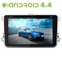 8 inch 1024*600 Android 4.4 Car DVD Video Player For VW Volkswagen Passat B6 Skoda Octavia Superb Navigation GPS Radio VW Canbus