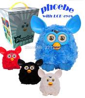 2014 New LCD eyes Phoebe Firbi Elves Figurines Recording Plush Electronic Pet Talking Mini Toy Ferbey Best Gift Child toys