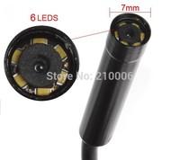 Portable 7m Cable 7mm Lens USB Endoscope camera 6 LED IP67 Waterproof mini Camera Tube Snake Scope Borescope Insepction Camera