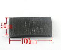NEW High Purity 99.9% Graphite Ingot Block 100mm * 50mm * 10mm