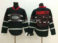 Cheap Free Shipping men's Hockey Jersey Montreal Canadiens 67 Max Pacioretty Hockey Jersey Embroidery Logos Jersey
