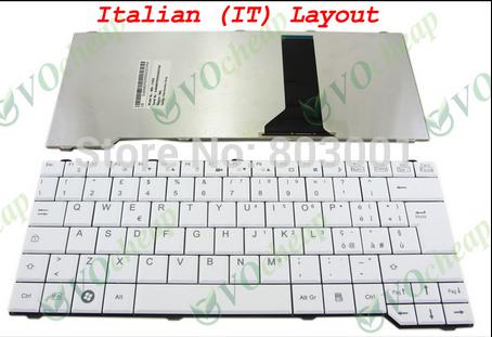 QWERTY Hot sale laptop computer keyboard for Fujitsu Pa3515 Pa3553 Sa3650 Uk-IT Italy Layout(China (Mainland))