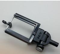 factory sale 500pcs/lot universal rotating mobile phone clip mount holder for self-timer monopod & MINI tripod