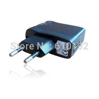 10pcs/lot EU Version AC 100-240V /DC 5V 0.5 A USB Charger Adapter 5V Power Supply Wall Home Office EU Plug