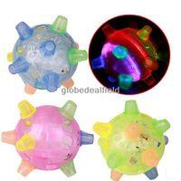 Kids Flashing Light Up Singing Dancing and Bouncing Bumble Ball Novelt Toys Gift Free shipping