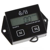 LCD Display Digital Tachometer Hour Meter For Motorcycle / Boat Engines