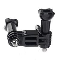 Three-way Adjustable Pivot Arm for Gopro Hero 1/2/3 Camera-Black