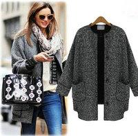 2014 Spring Autumn&Winter, Good Linen Single Breasted Women Coat Jackets