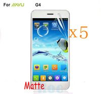 Retail Packing 5x Matte Anti Glare LCD Screen Protector Guard Cover Film Shield for JIAYU G4