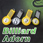 Freepost 6pcs/lot Round billiard balls keyring as billiard balls No1~No 15 Billiard Adorn keychain billiard snooker accessories