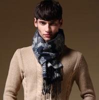 New arrival 2014 scarf male lovers scarf tassel male winter muffler scarf