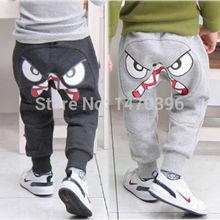 Popular Kids Boys Girl Unique Clothes Harem Pants Trousers Cartoon K