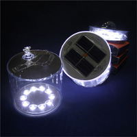 Christmas Solar powered Waterproof Inflatable Solar Lantern with factory price
