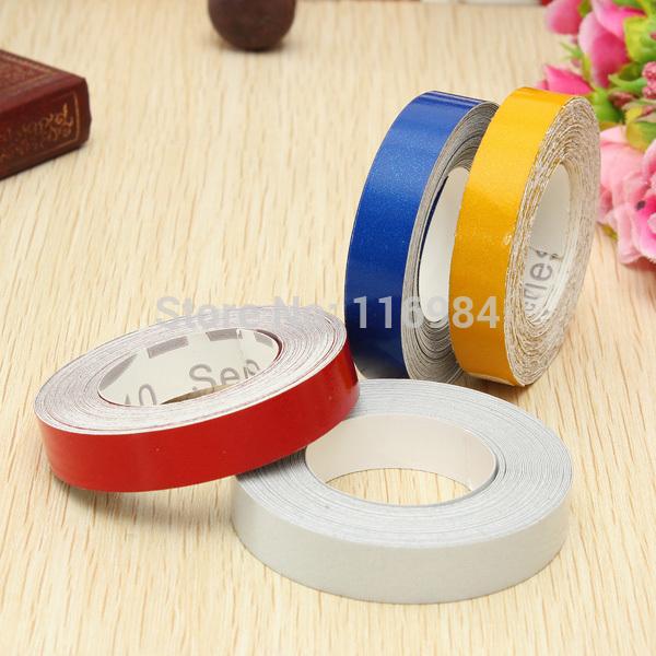 1.0CM x 1Meter DIY 3M Reflective Sticker Automobile luminous strip car & motorcycle Decoration Decals Vinyl Sticker(China (Mainland))