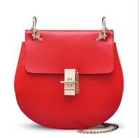 Guaranteed 100 % Genuine Leather cowhide woman bags fashion designers chain handbags messenger bags bolsas femininas brand
