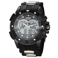 2015 Readeel Fashion Casual Digital Watch Brand Men Analog Quartz Watches Dual Time Military Men Sports Watches Rubber Men Watch
