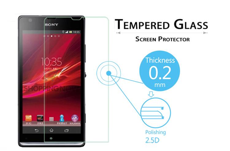 Защитная пленка для мобильных телефонов 2.5d 0.2 Sony M35h Xperia SP C5302 C5303 защитная пленка для мобильных телефонов sony xperia z3 z3