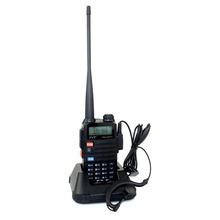 Free Earphone Walkie Talkie TYT TH UVF11 256CH VHF UHF 5W VOX FM Radio Dual PTT