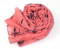 Marilyn monroe head portrait pattern chiffon silk scarf sexy scarf fashion scarf double layer cape