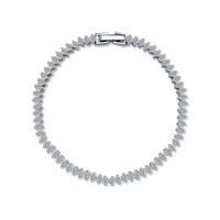 new brand design fashion women golden curtain bead bracelet TOP18K CZ Bangle Bracelet 108743