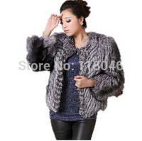 2014 Fashion Jackets Fur Coat real Fox Fur Women Outerwear Jacket Coats plus size Natural Furs overcoat Winter warm Clothing