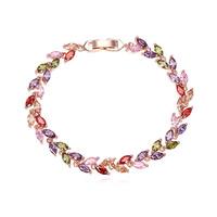 new brand design fashion women golden bracelet TOP18K Allure Juelian Beetle CZ Bangle Bracelet 108401