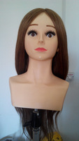 Hot Sale Hairdressing Hair Styling Tools 100% Human Hair India hair The Mannequin Head Doll Head Mannequin Head The Dummy's Head
