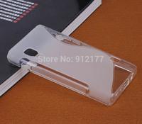 [4 Colors] S-Line Wave TPU Soft Gel Rubber Case Cover for LG Optimus L5 II E450 E460