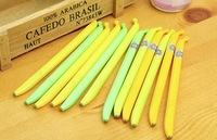 FREE SHIPPING Gel Ink Pen Banana Novel Design Office Writing Stationery say hi 41110 24pcs/lot