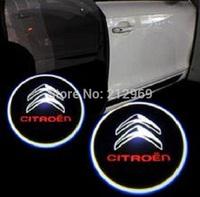 Aluminum welcome light 12V led car door logo laser projector light