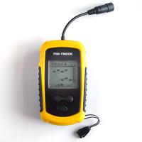 100M AP Waterproof Depth Portable Sonar Fish Finder fish detector with Sonar Sensor and 9 Meter Cable Free Shipping