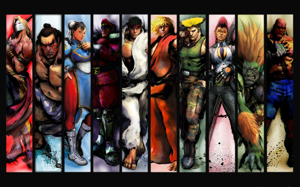 Characters Wall Street Street Fighter Characters