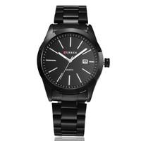 CURREN Brand Fashion Luxury Men Business Casual Wristwatch 100% Quality Automatic Date Waterproof Stainless Steel Quartz Watch
