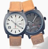 2014 new fashion Business Quartz watch Men sport Watches Curren Military Watches Men Corium Leather Strap army wristwatch